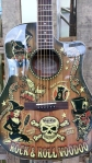 Cool Fender guitar.